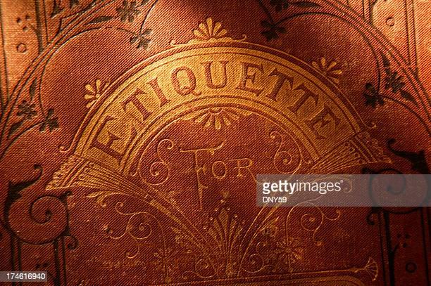 Antique Book of Etiquette 2