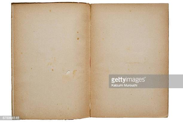 Antique book texture background