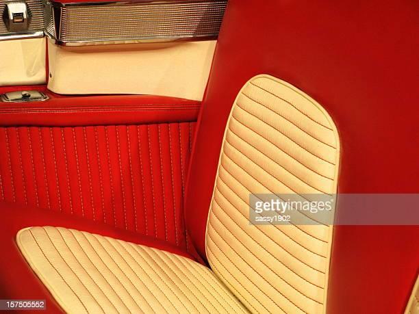 Antique Car Backseat