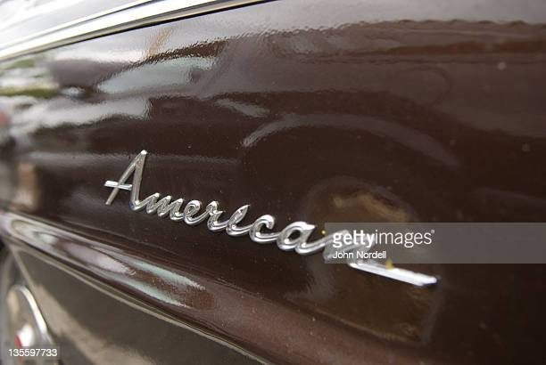 Antique car called the 'American'