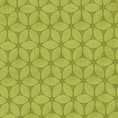 High resolution antique carpet with green circle