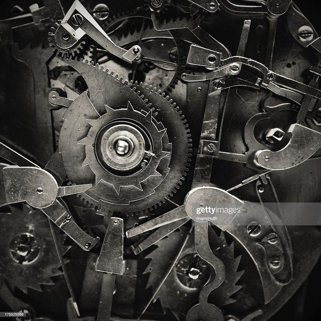 Antique Clock Mechanism
