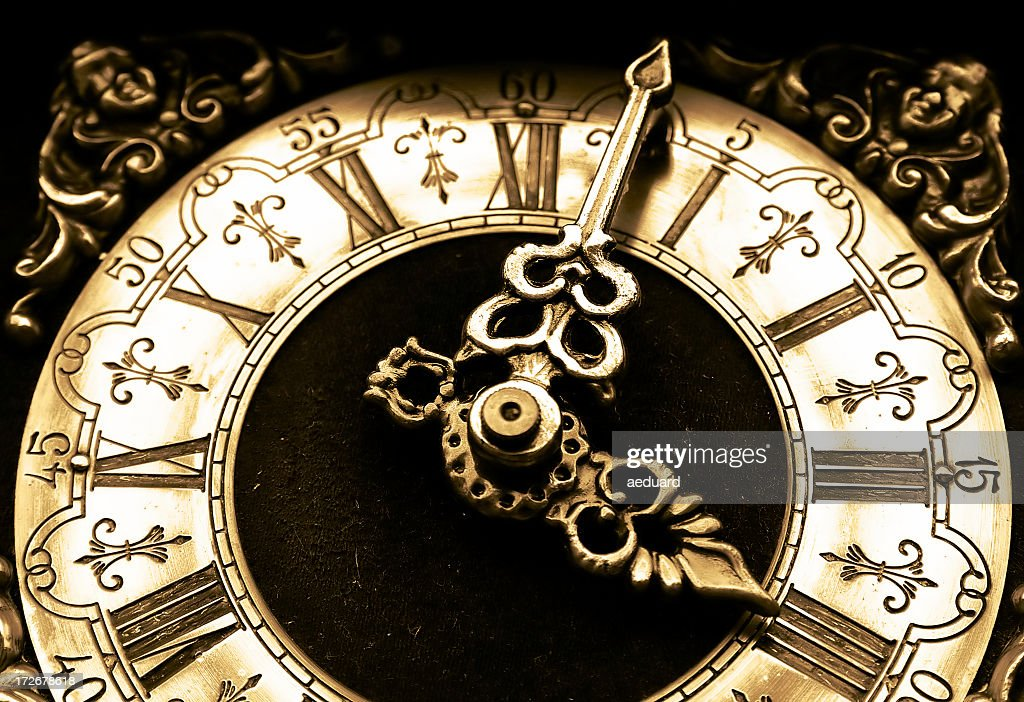 Antique Clock Stock Photography - Image: 26443102
