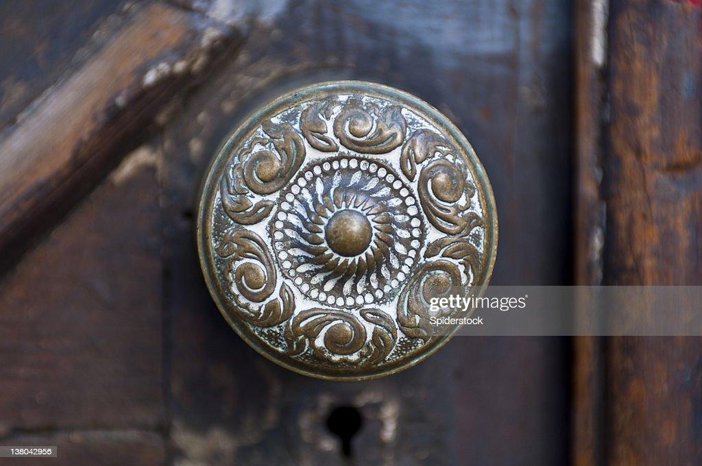 Antique Door Knob : Stock Photo