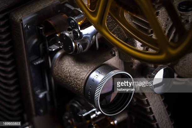 Antique Film Projector Detail