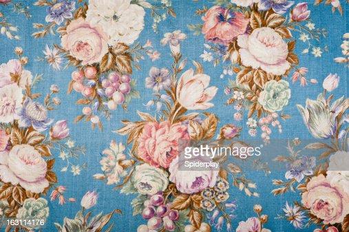 Antique floral fabric 88552135