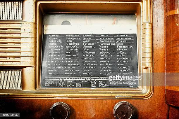 Antique french radio