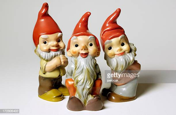 Antique Garden Gnomes