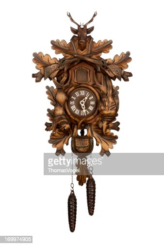 Antique German Cuckoo Clock