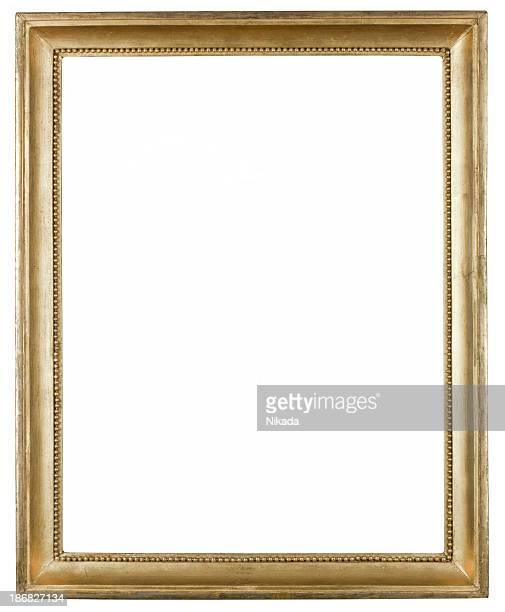 Antiguo marco de oro