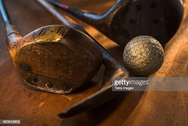 Antique golfing gear