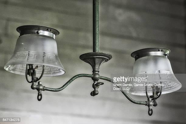 Antique hanging lamps