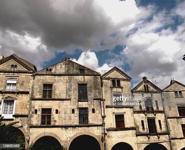 Antique houses in Fontenay-le-Comte