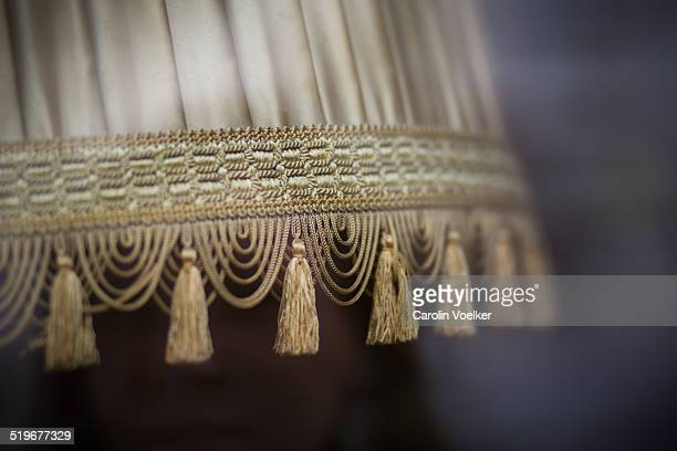 Antique lamp shade
