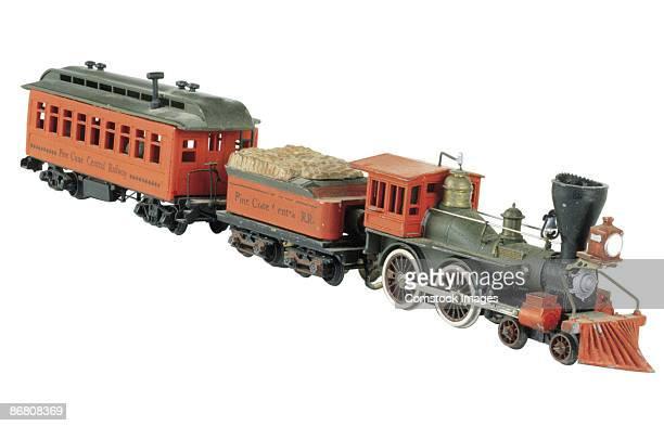 Antique locomotive train