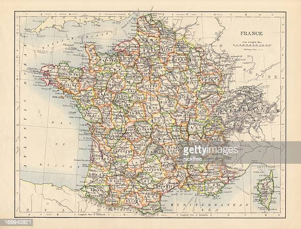 Carte Antique de France