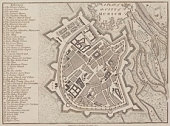 Antique map of Munich , Germany