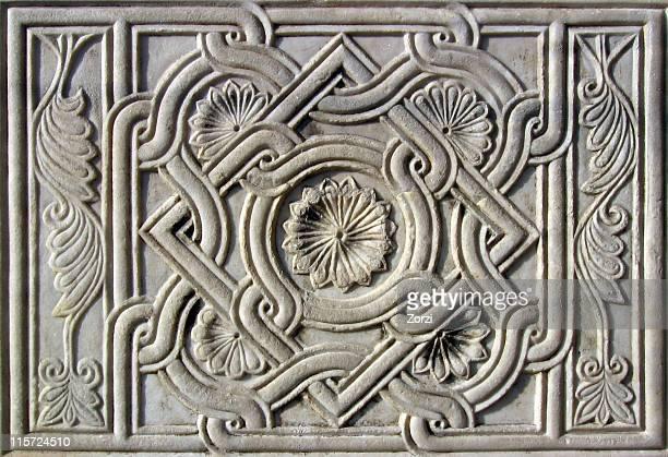 Piastrelle in marmo anticato