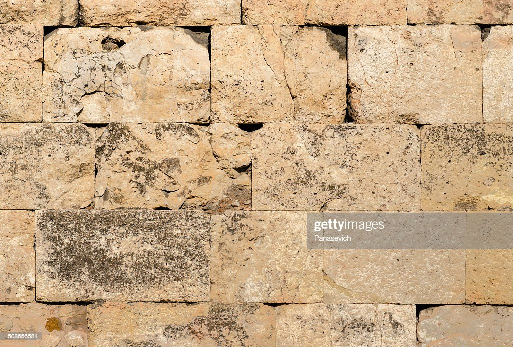 Antique Marble Wall : Stock Photo