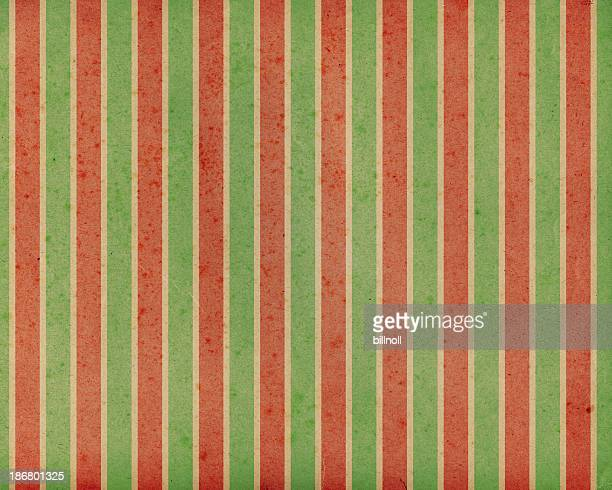 antique paper with holiday stripes