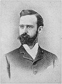 Antique photograph of man