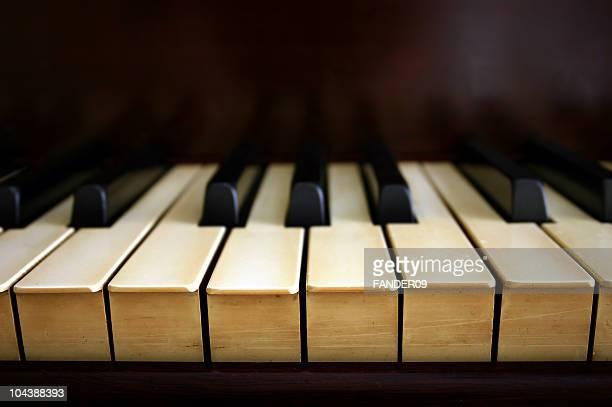 アンティークピアノキー