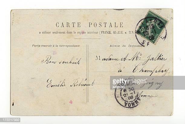Ancienne carte postale