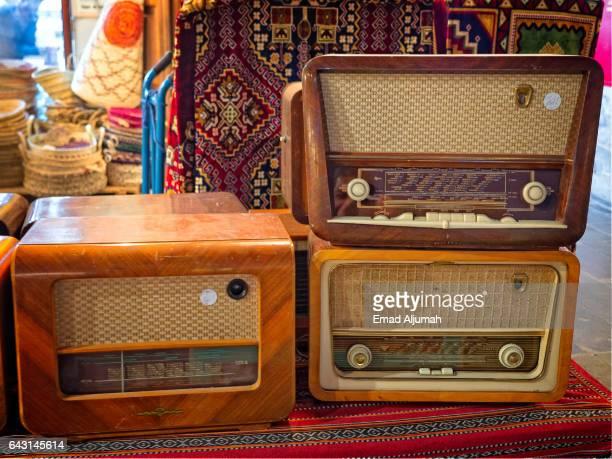 Antique Radios sold in Souq Waqif, Doha, Qatar - February 3, 2017