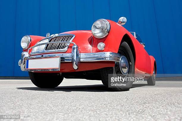 Antique red oldtimer