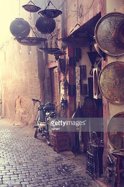 Antique Shop, Marrakesh, Morocco