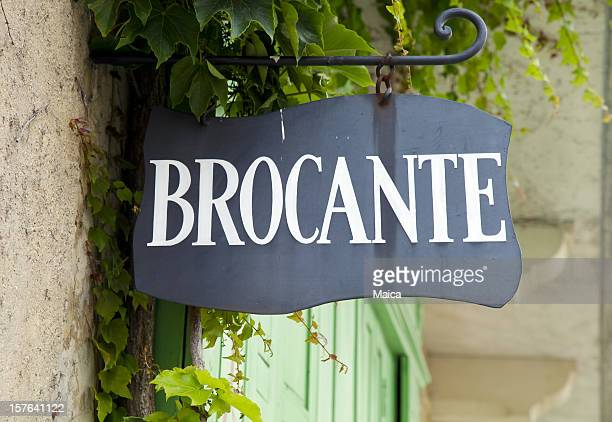 Antique shop sign France