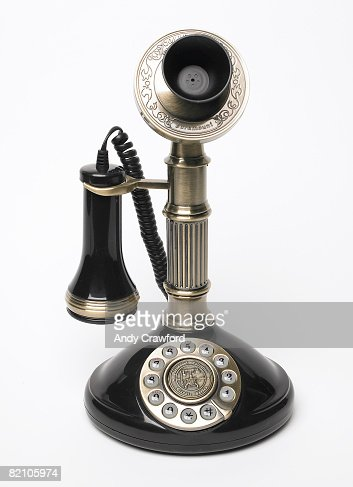 Antique telephone : Foto stock