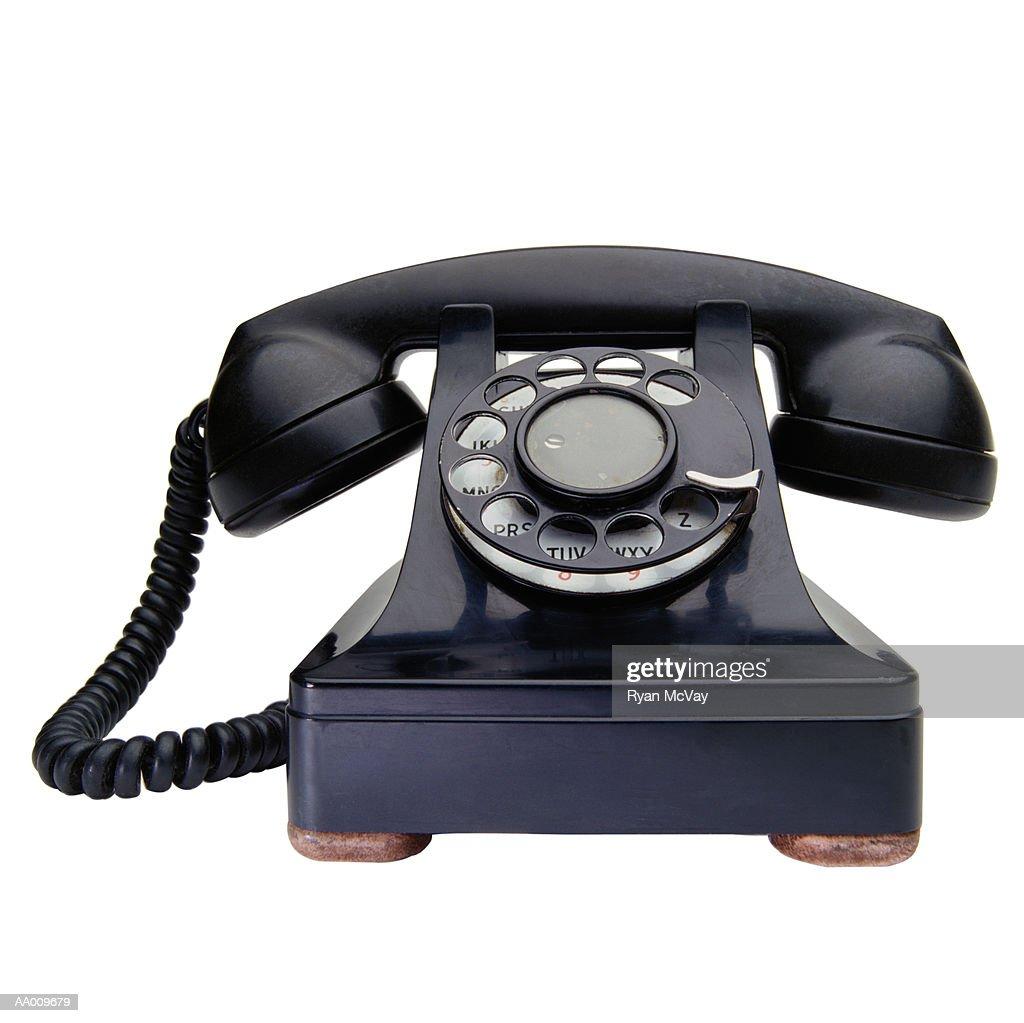 Antique Telephone : Stock Photo