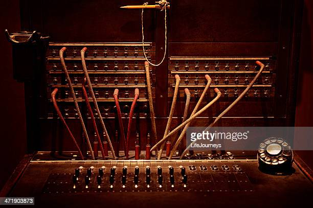 Antique Telephone Switchboard