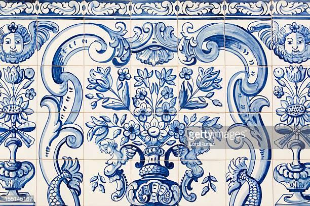 Mosaico antigo padrão