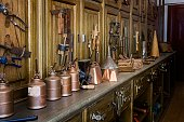 Antique tools in an historic hardware store