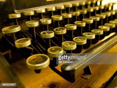 Antique Typewriter : Stock Photo