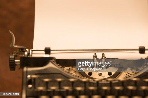 Antique Typewriter Wit... Vintage Typewriter Paper Photography