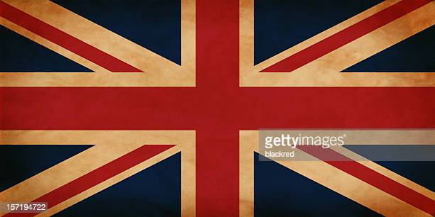 Antique UK Flag