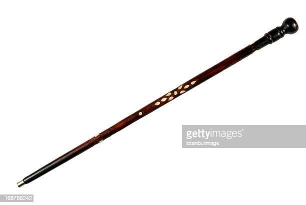 antique-bâtons de marche