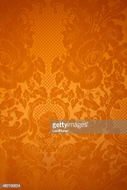 Antique wallpaper pattern