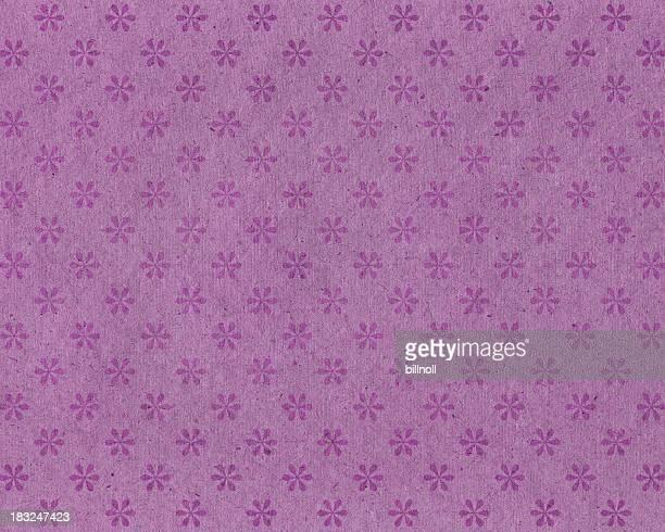 Antiguo con flor patrón de papel tapiz