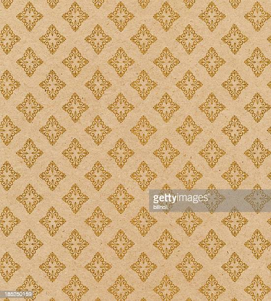 antique wallpaper with glitter pattern