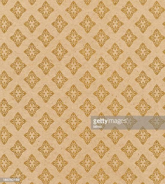 Antiken Tapete mit durchgehenden Muster