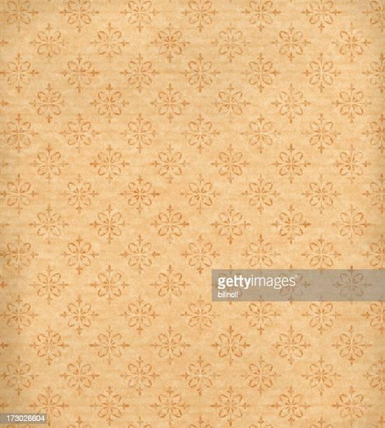 Patrón de papel tapiz antiguo con textura de fondo