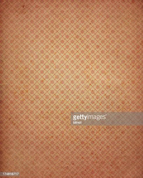 antique wallpaper with pattern