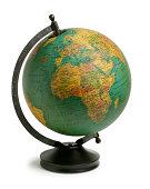 Antiqued Globe