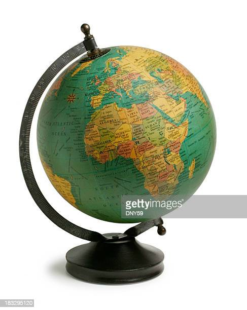 Antiqued Globe