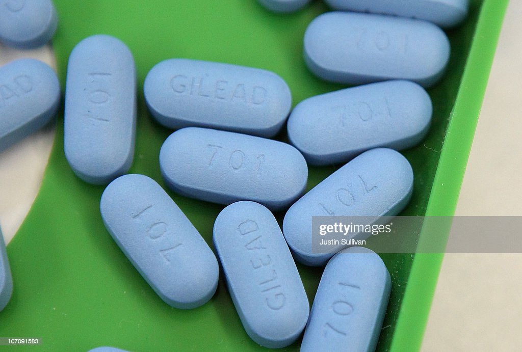 Antiretroviral pills Truvada sit on a tray at Jack's Pharmacy on November 23, 2010 in San Anselmo, California. A study published by the New England Journal of Medicine showed that men who took the daily antiretroviral pill Truvada significantly reduced their risk of contracting HIV.