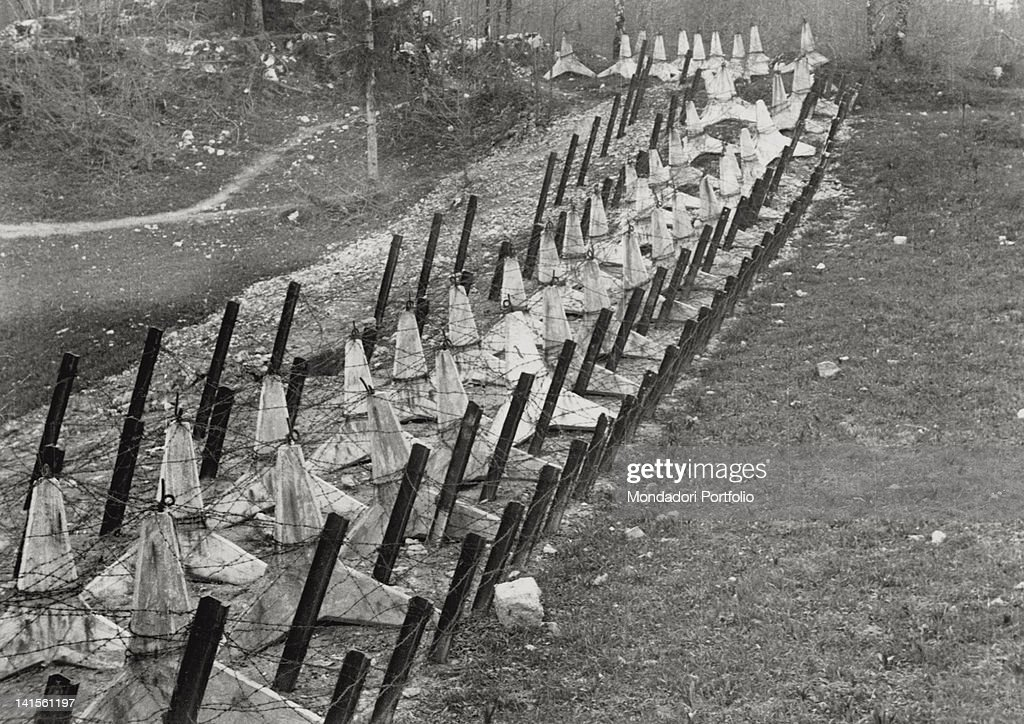 antitank barriers and barbed wire placed along the border of the picture id141561197?k=6&m=141561197&s=612x612&w=0&h=G6F4mxljUbMlSW2BybExxIlWo3ivb v o5Fq92jxz0M= tstatccprh01 b wiring diagram radio wiring diagram, 1986 ford Old Carrier Wiring Diagrams at readyjetset.co